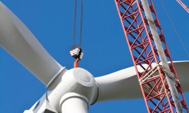 Windkraftanlage 3U Energy